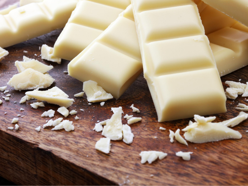understand how white chocolate is made by and enjoy it